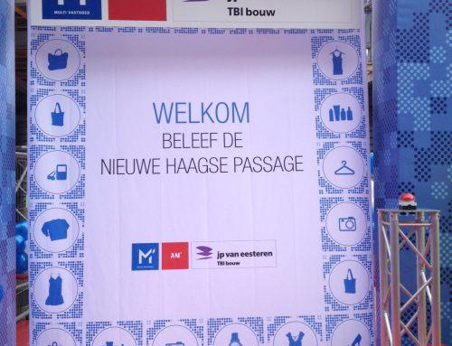 Tijdelijke openstelling Nieuwe Haagse Passage